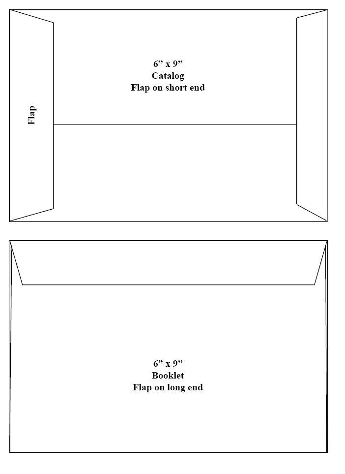 Catalog and Booklet Envelopes